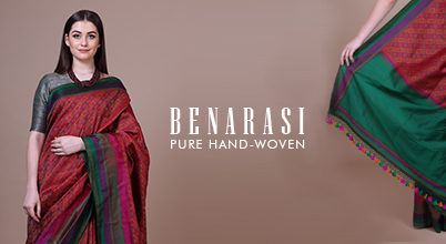 From The Ghats of Ganga to Your Wardrobe, Banarasi Silk Sarees Are Special