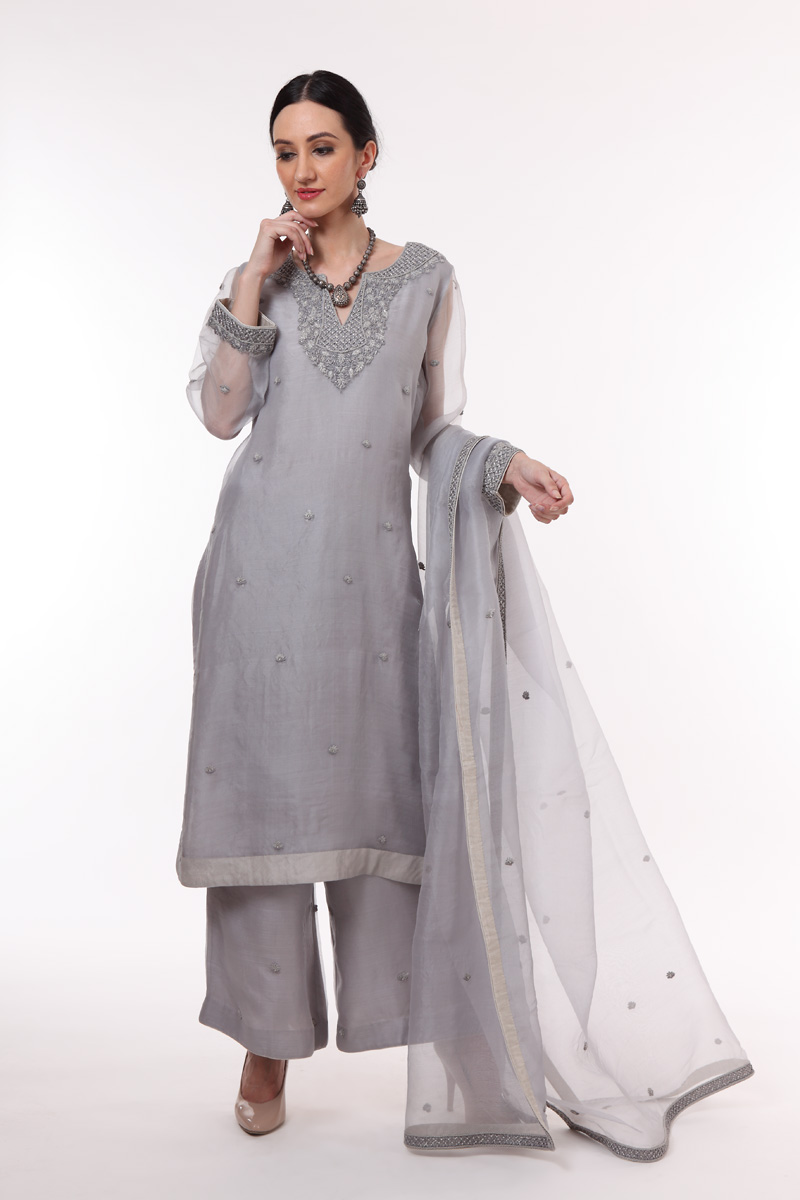 pure-hand-woven-blue-grey-chanderi-katan-silk-suit-set