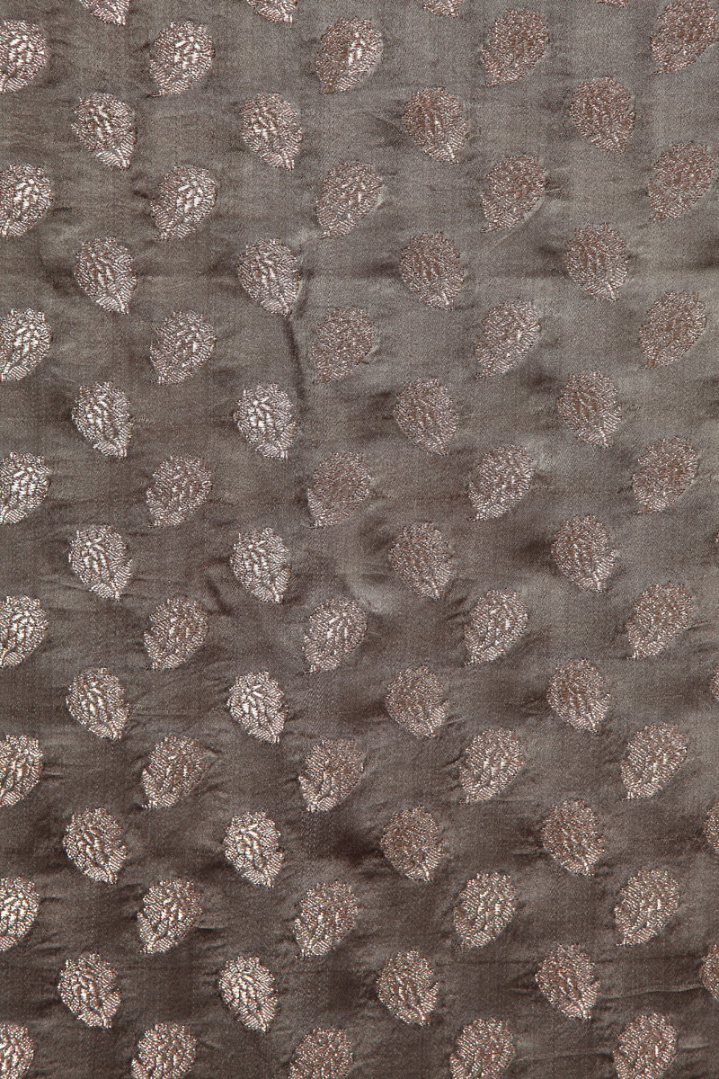 pure-hand-woven-benarasi-grey-green-satin-silk-fabric