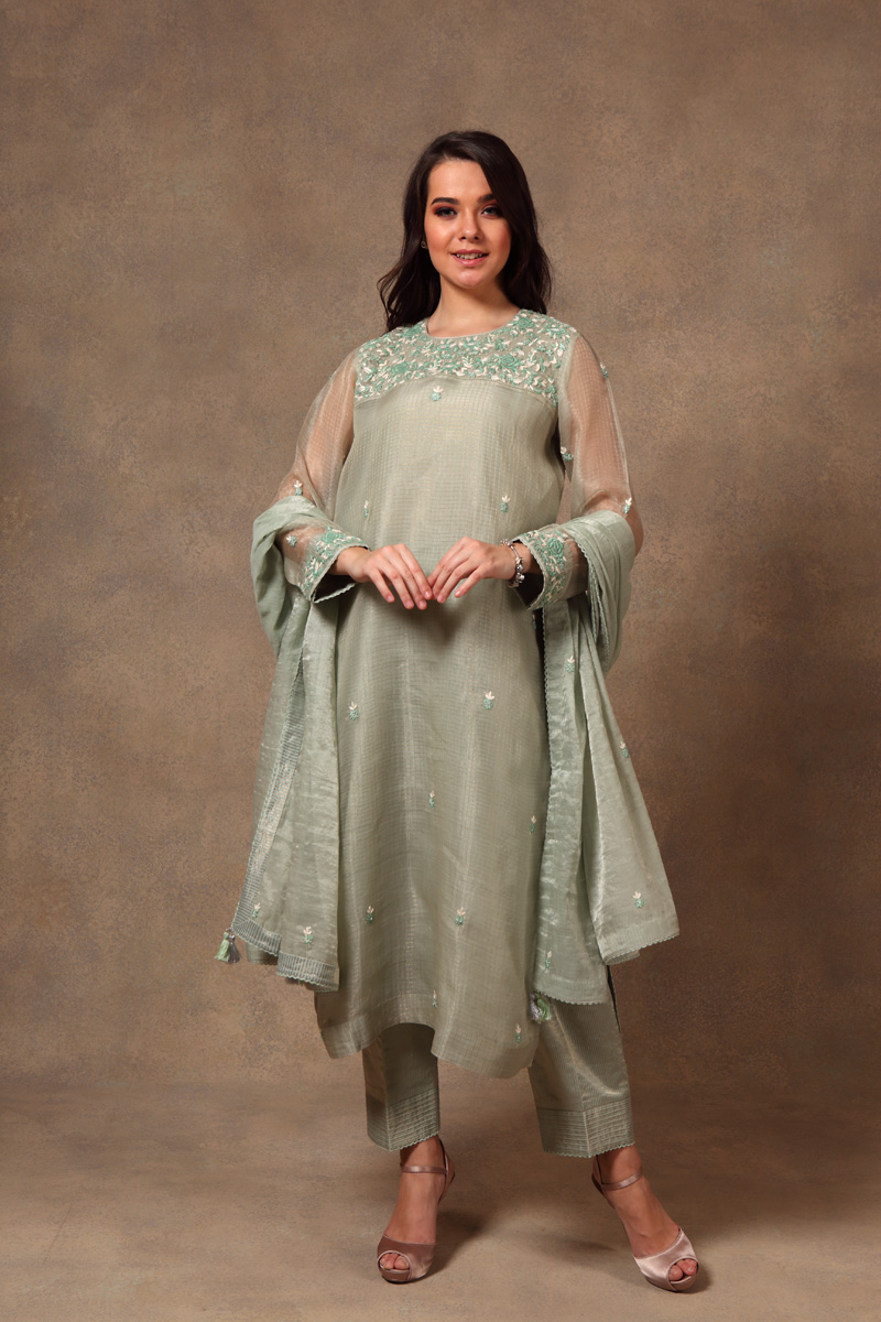 hand-embroidered-neptune-green-chanderi-pure-katan-silk-suit-set