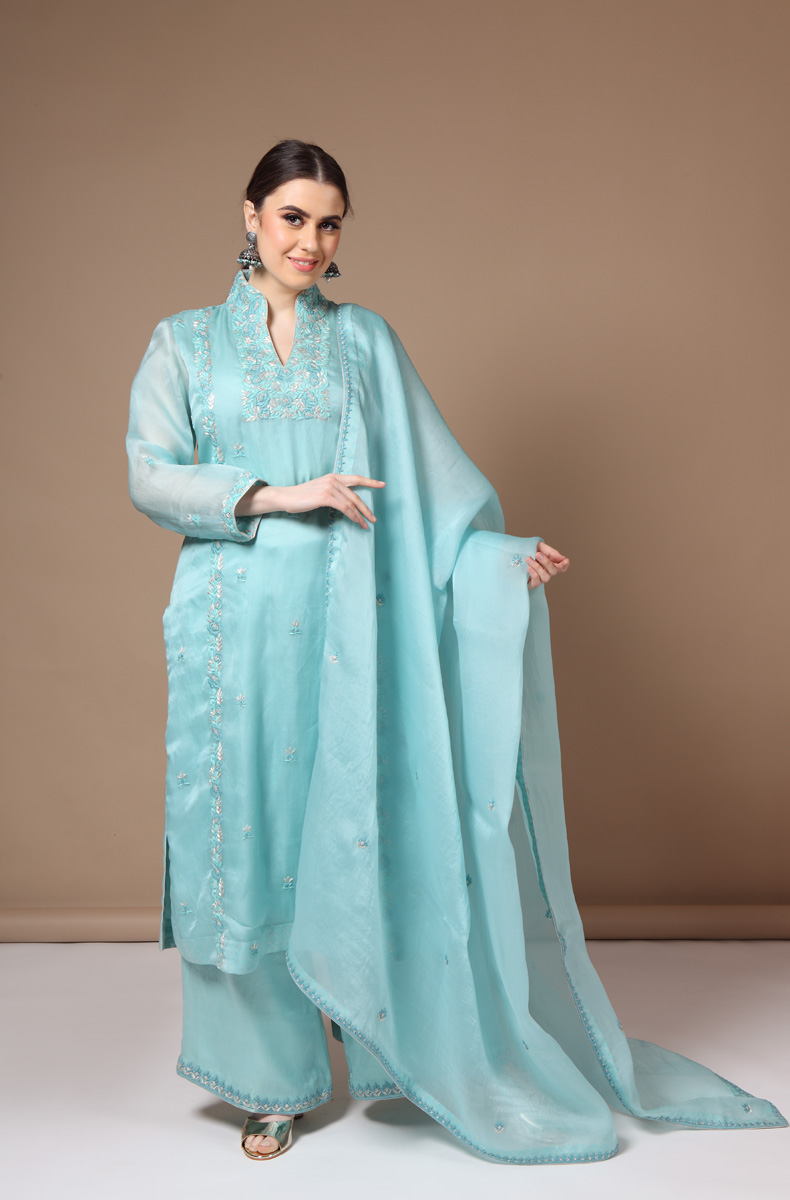 sky-blue-pure-silk-organza-suit-set