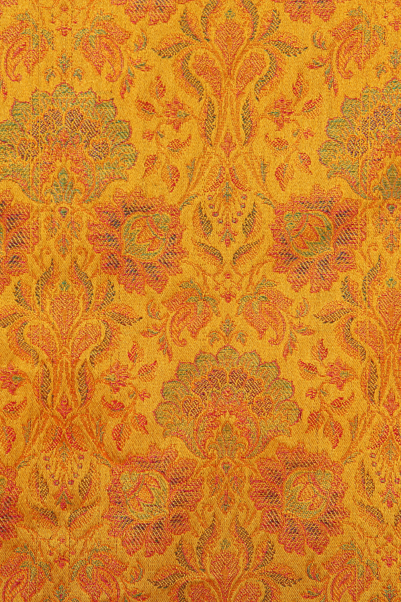 pure-hand-woven-benarasi-yellow-multi-coloured-double-tanchoi-silk-fabric