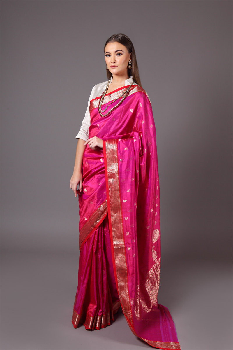 pure-hand-woven-purple-magenta-chanderi-silk-saree