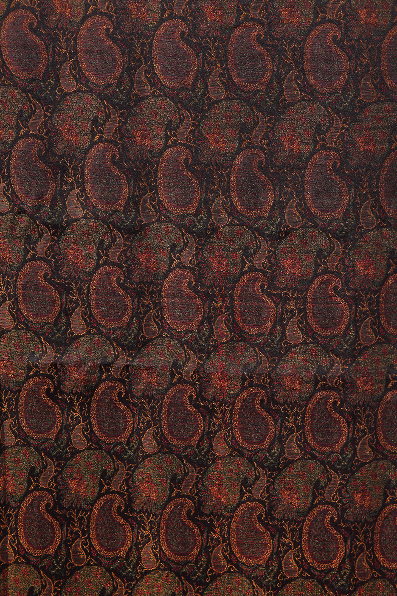 pure-hand-woven-benarasi-double-tanchoi-black-fabric