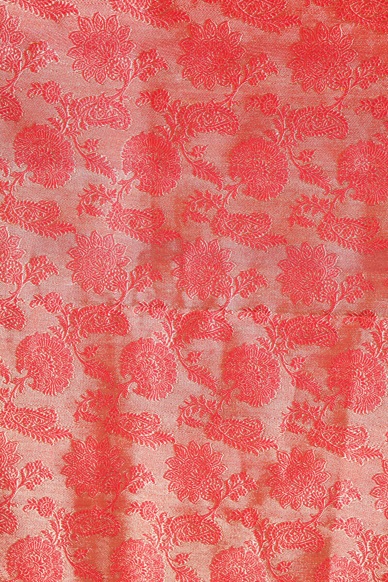 pure-hand-woven-red-benarasi-silk-tissue-fabric