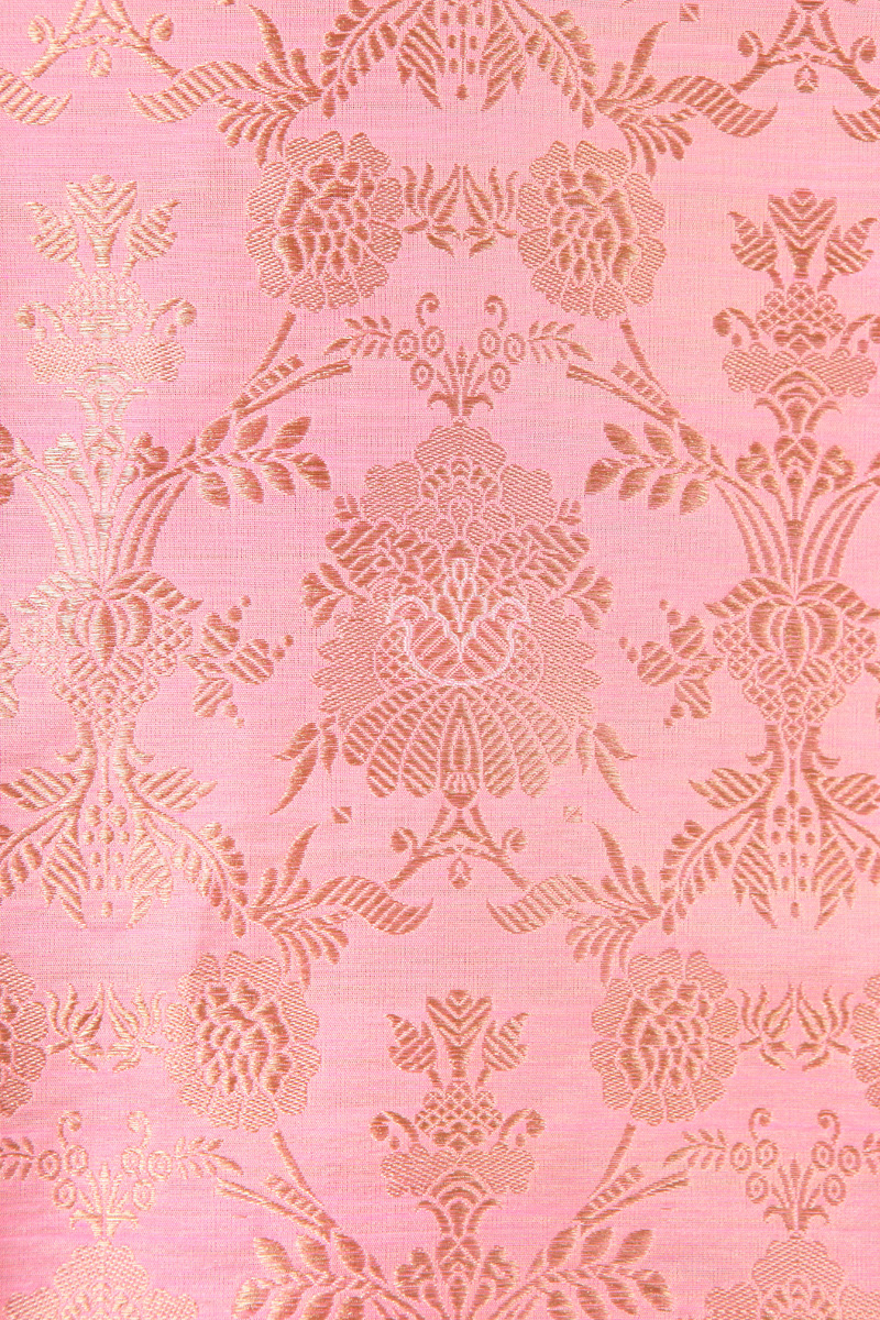 pure-hand-woven-light-pink-benarasi-brocade-katan-silk-fabric-with-meena-jangla