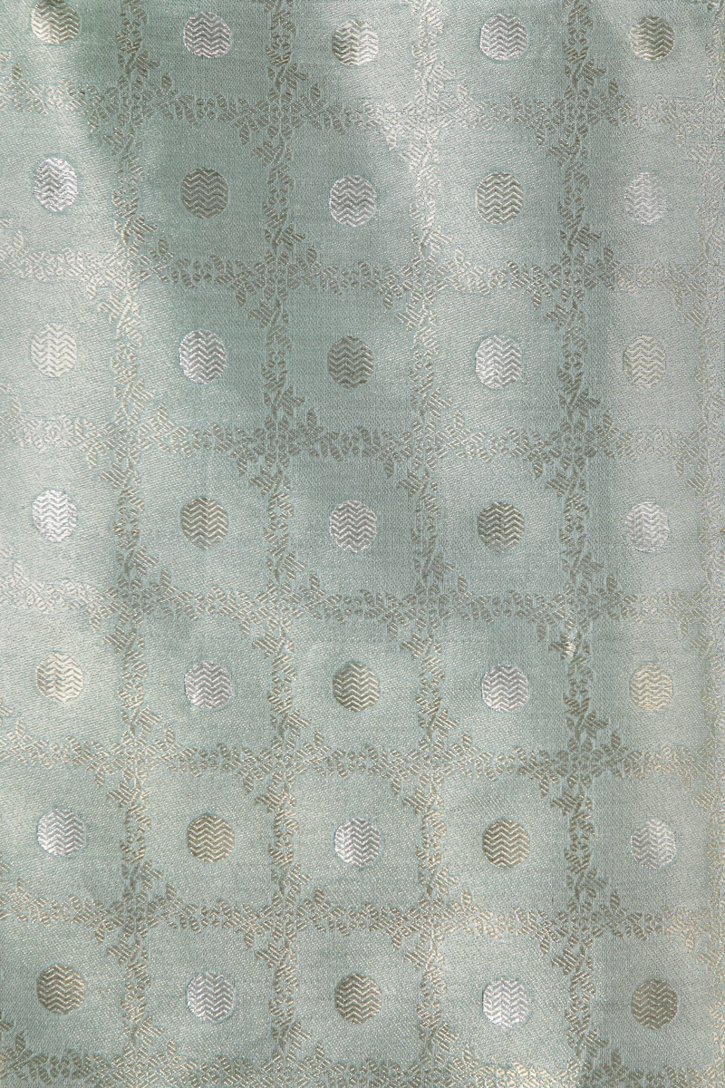 pure-hand-woven-sea-green-benarasi-silk-tissue-fabric