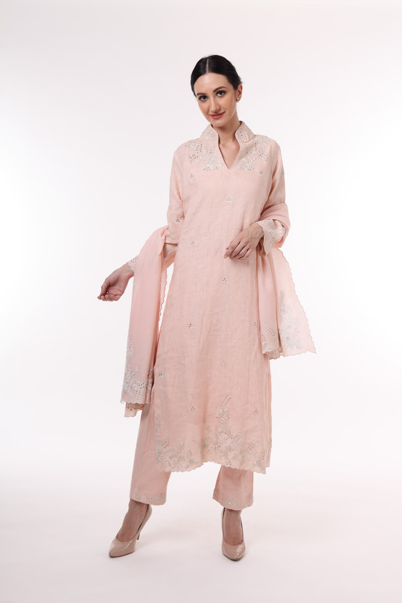 pure-hand-woven-dusty-peach-linen-suit-set