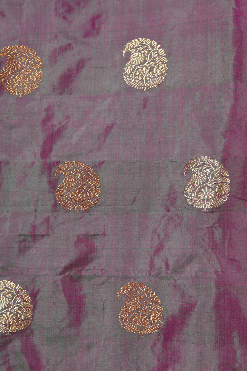pure-hand-woven-benarasi-green-majenta-katan-silk-fabric-with-kadhwa-butis