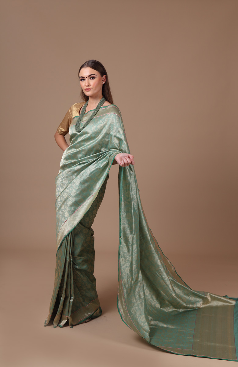pure-hand-woven-benarasi-sea-green-katan-silk-tissue-saree