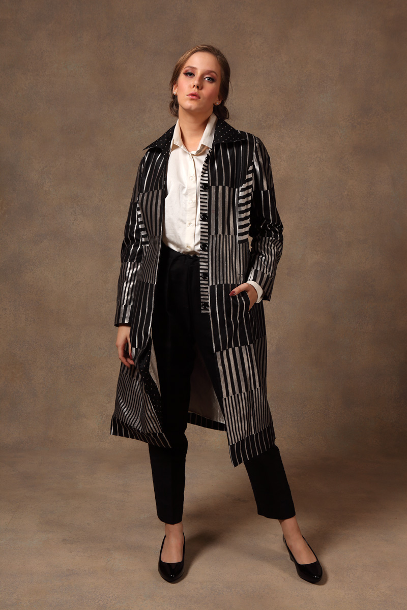 black-silver-hand-woven-pure-silk-brocade-jacket-with-silk-pants