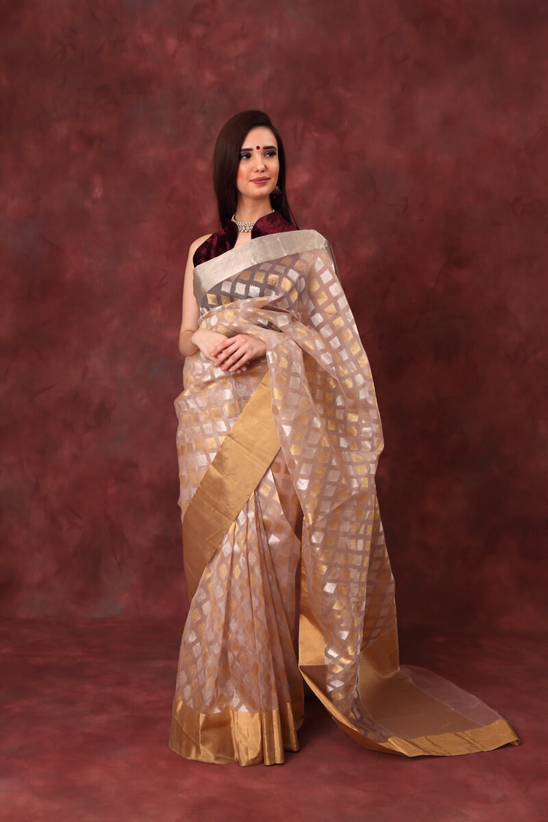 hand-woven-chanderi-nude-pink-pure-katan-silk-saree-with-diamond-butis