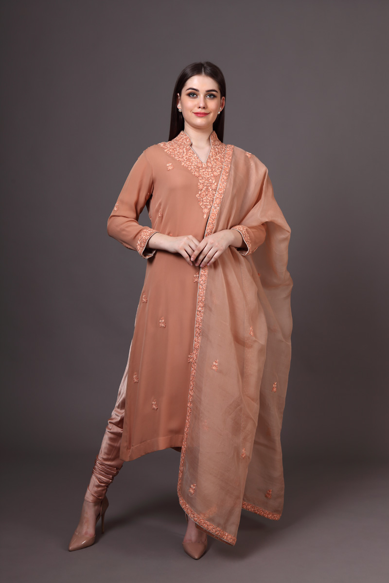pure-crepe-georgette-dark-beige-suit-set