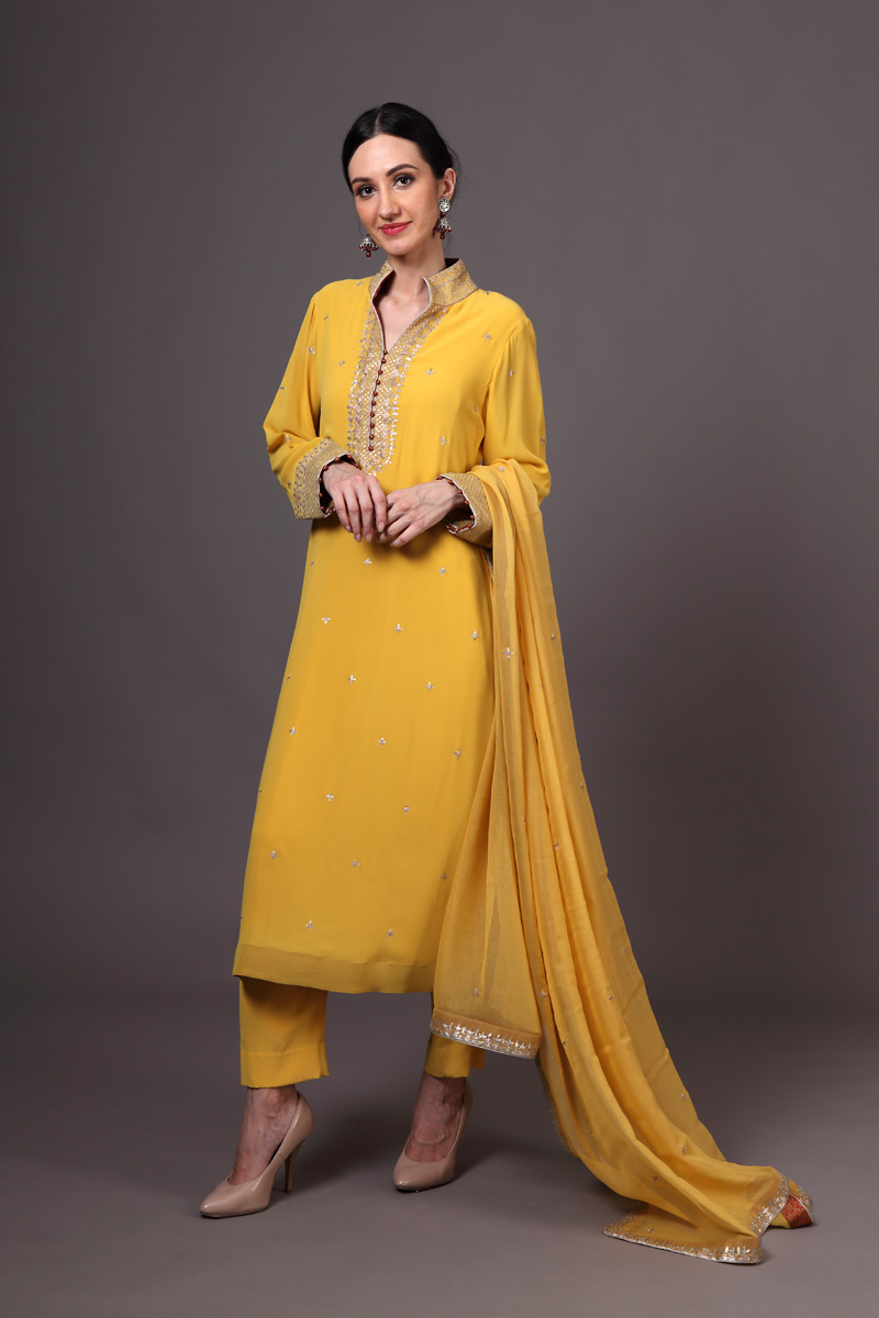 pure-crepe-georgette-yellow-suit-set-with-pure-chiffon-dupatta