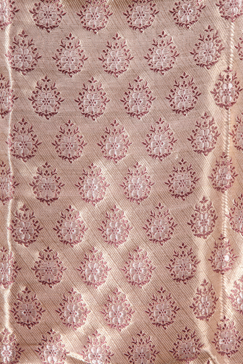 pure-hand-woven-meena-gold-benarasi-brocade-fabric