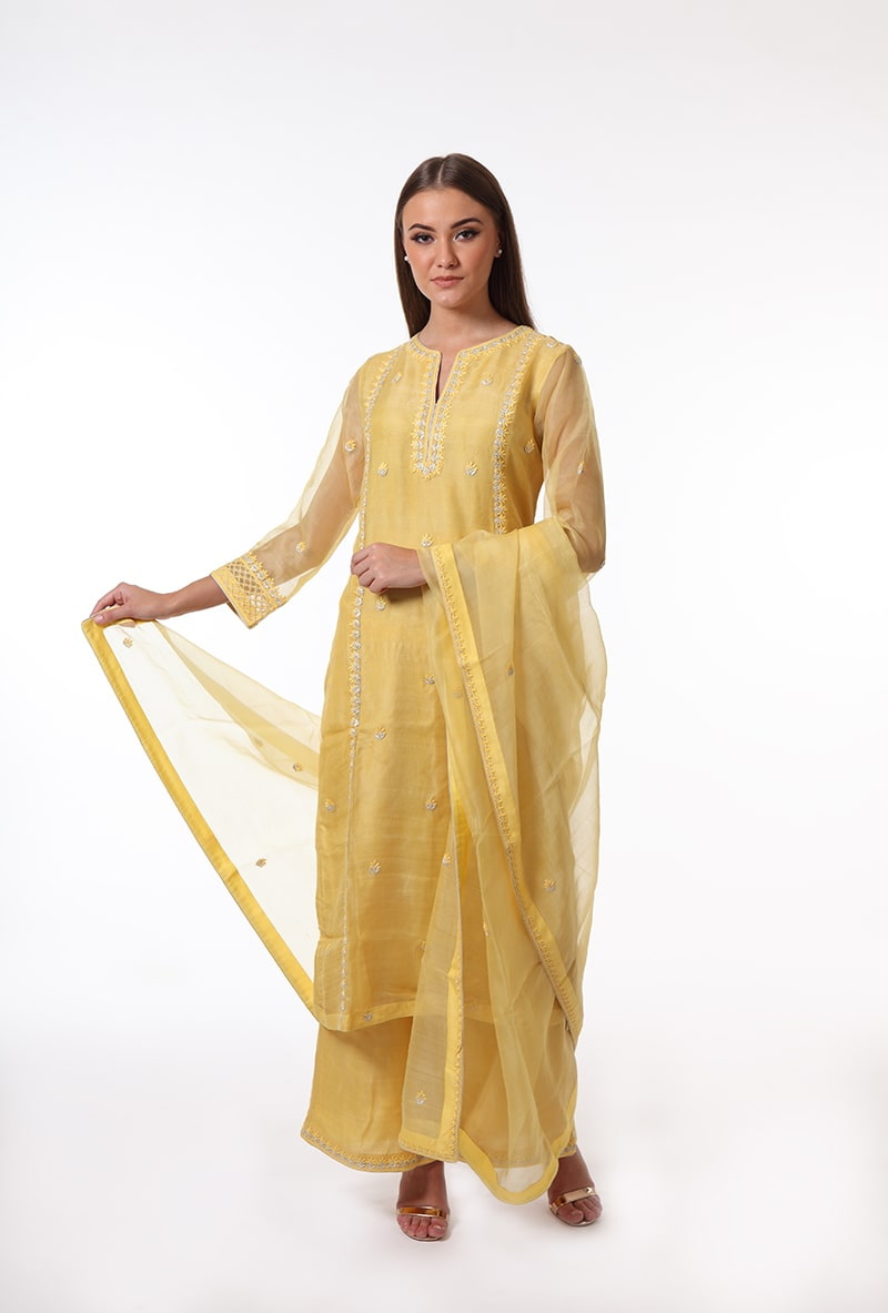 pure-hand-woven-yellow-chanderi-katan-silk-suit-set