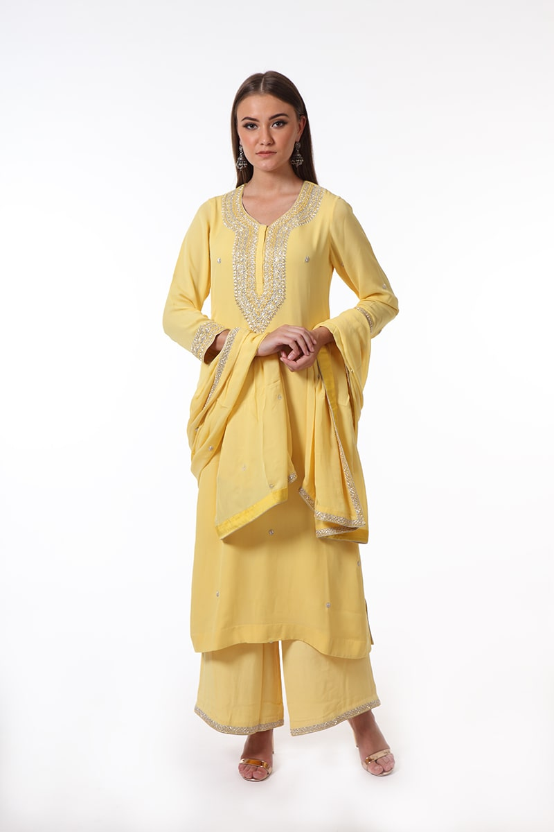 pure-crepe-georgette-yellow-suit-set