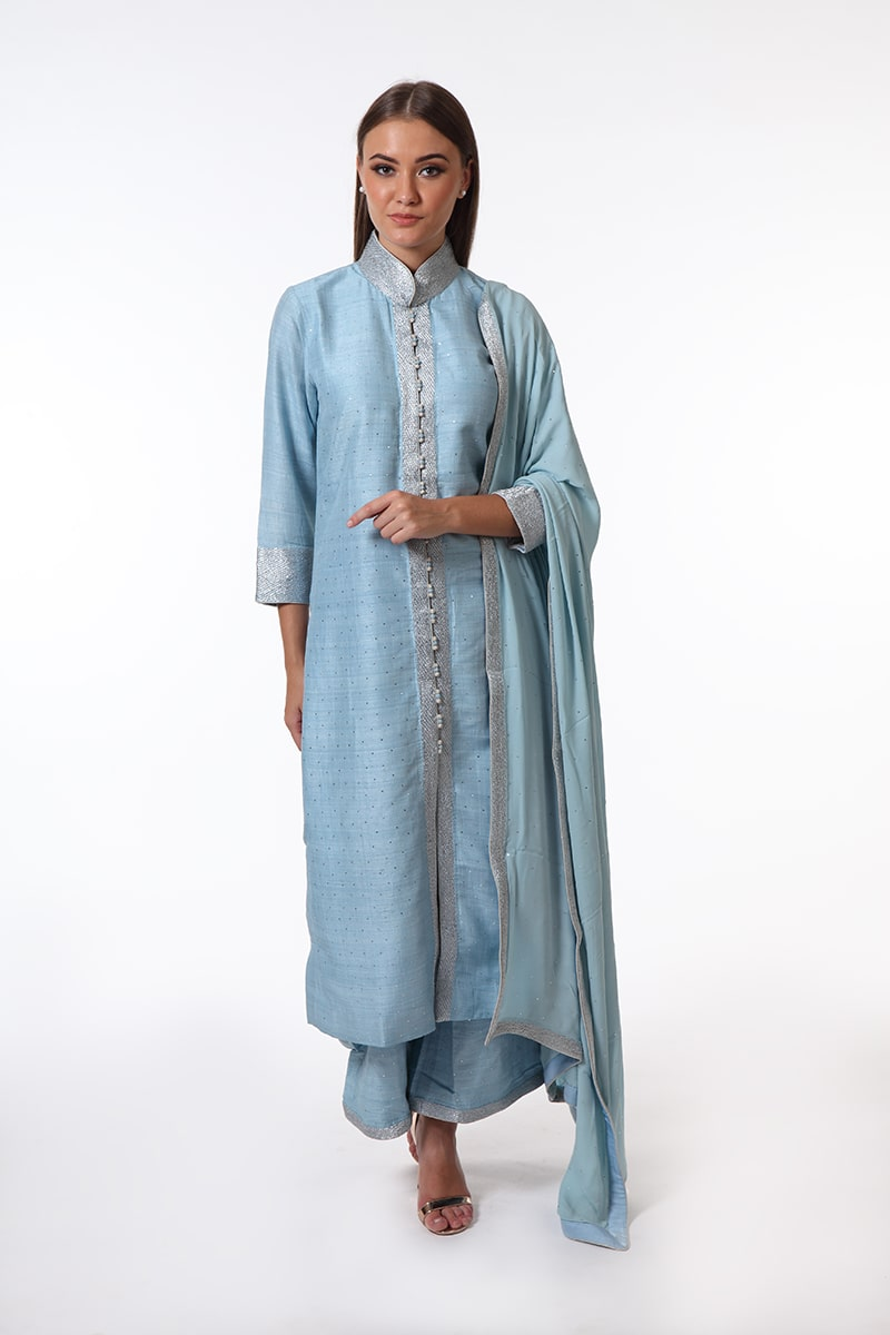 pure-hand-woven-light-blue-tussar-suit-set