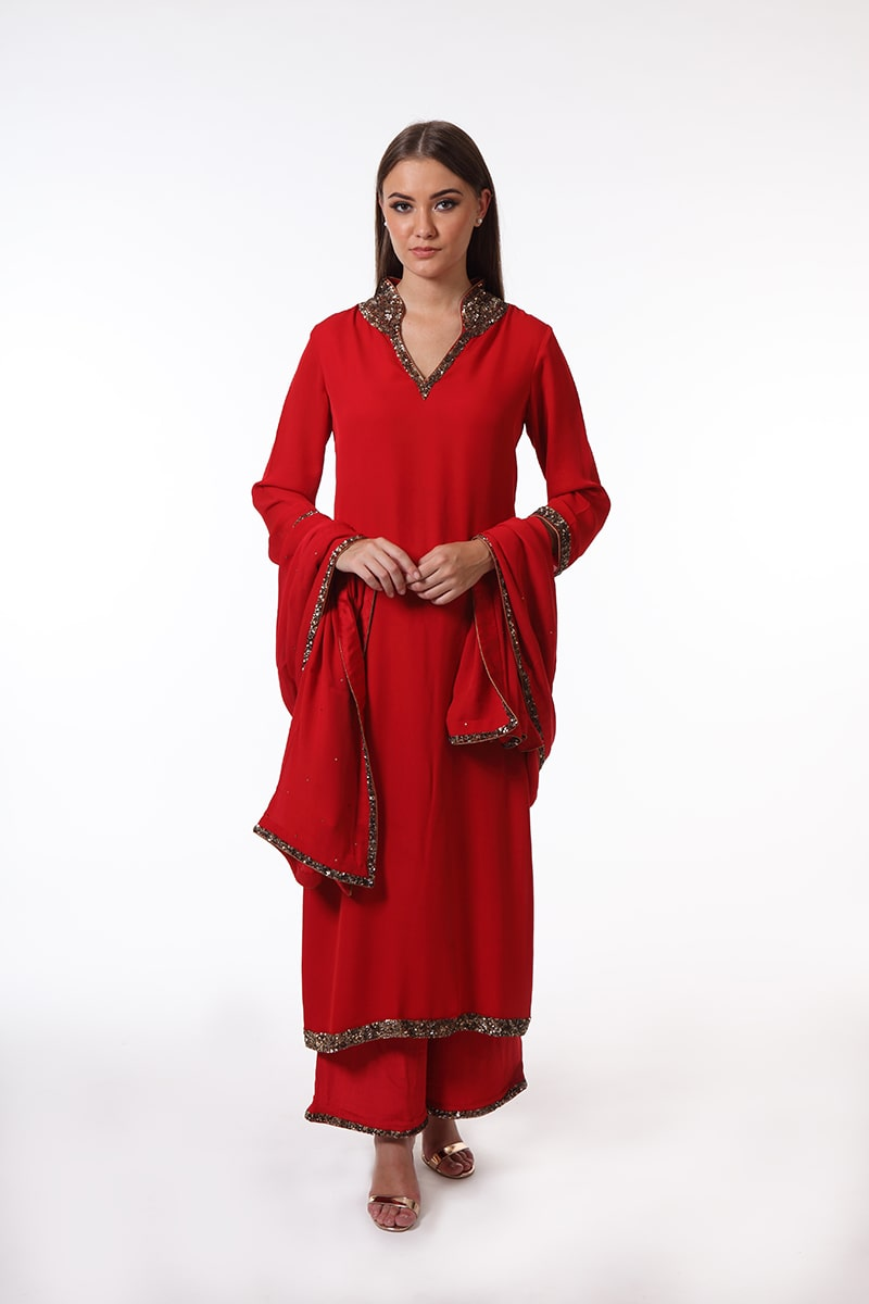 pure-crepe-georgette-red-suit-set