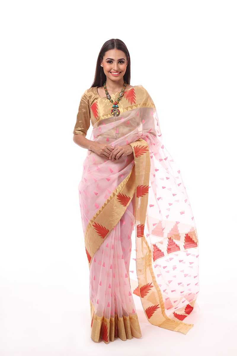 pure-hand-woven-chanderi-light-pink-katan-silk-saree-with-temple-border