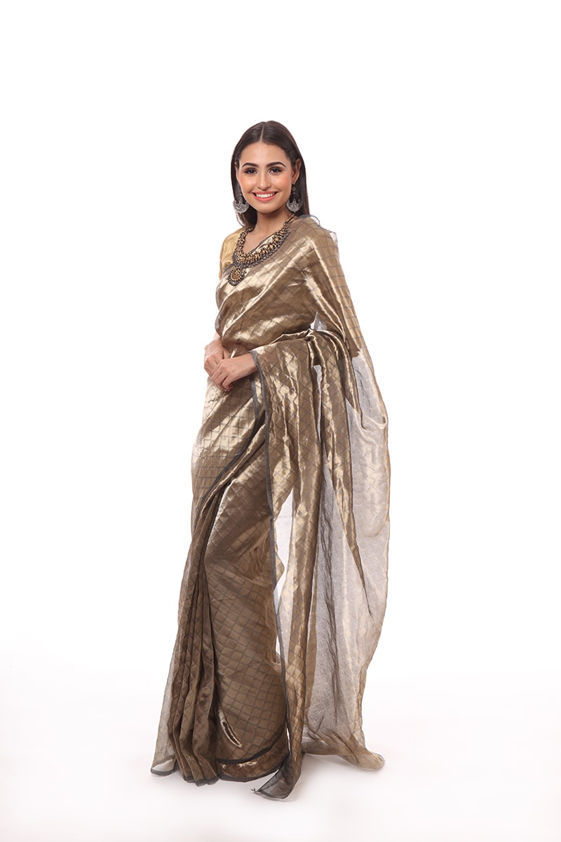 pure-hand-woven-dark-grey-chanderi-tissue-katan-silk-saree