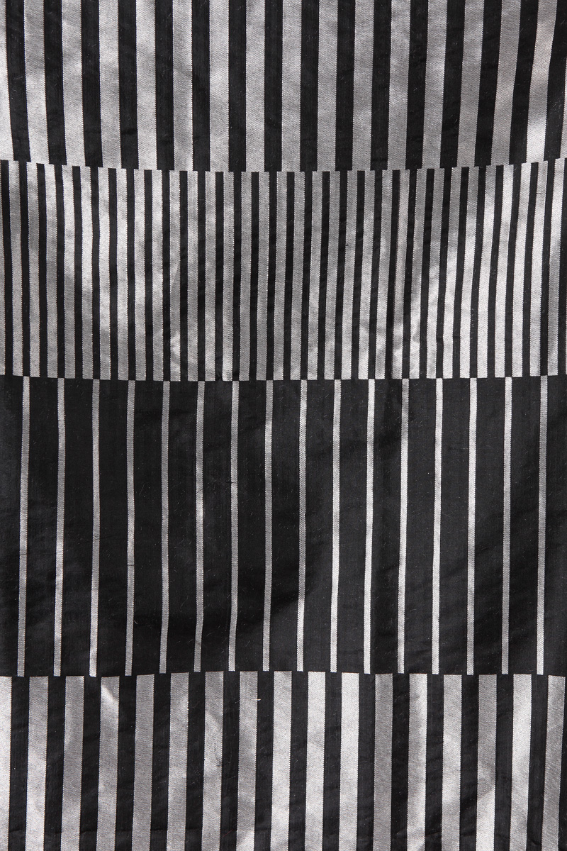 pure-hand-woven-benarasi-black-silver-striped-silk-fabric