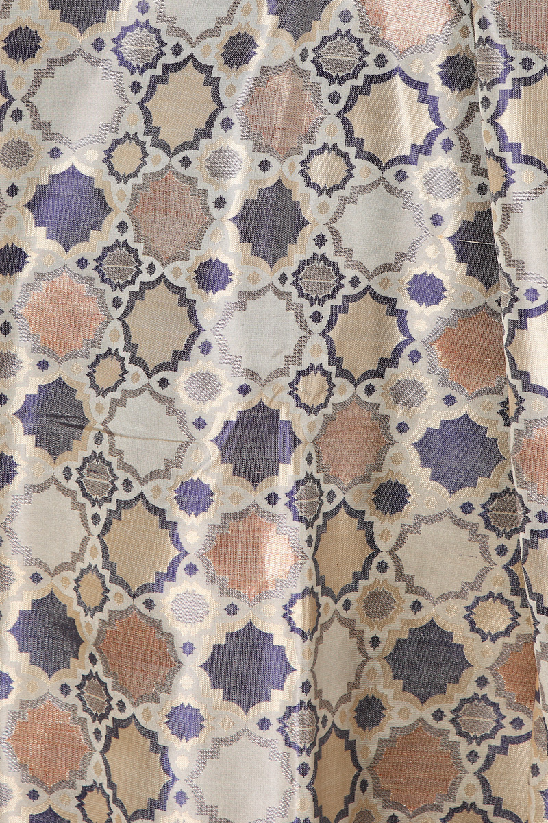 pure-hand-woven-benarasi-beige-blue-multi-coloured-geometric-design-fabric