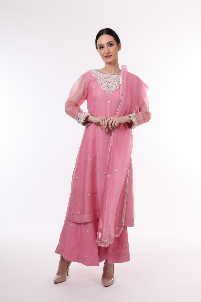 pure-hand-woven-rose-pink-chanderi-katan-silk-suit-set