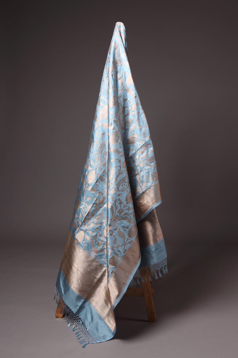 pure-hand-woven-benarasi-air-force-blue-katan-silk-kadhwa-jaal-dupatta