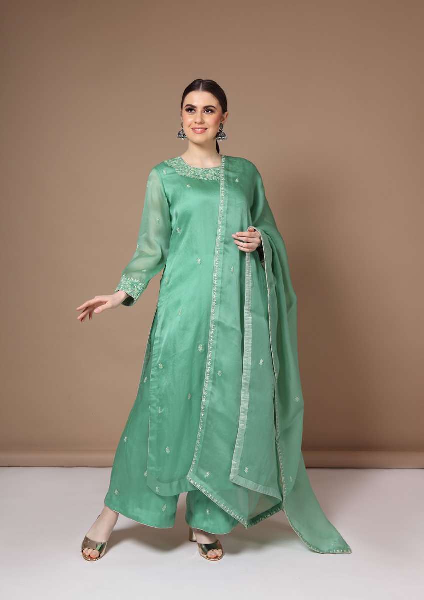 pure-silk-organza-sea-green-suit-set