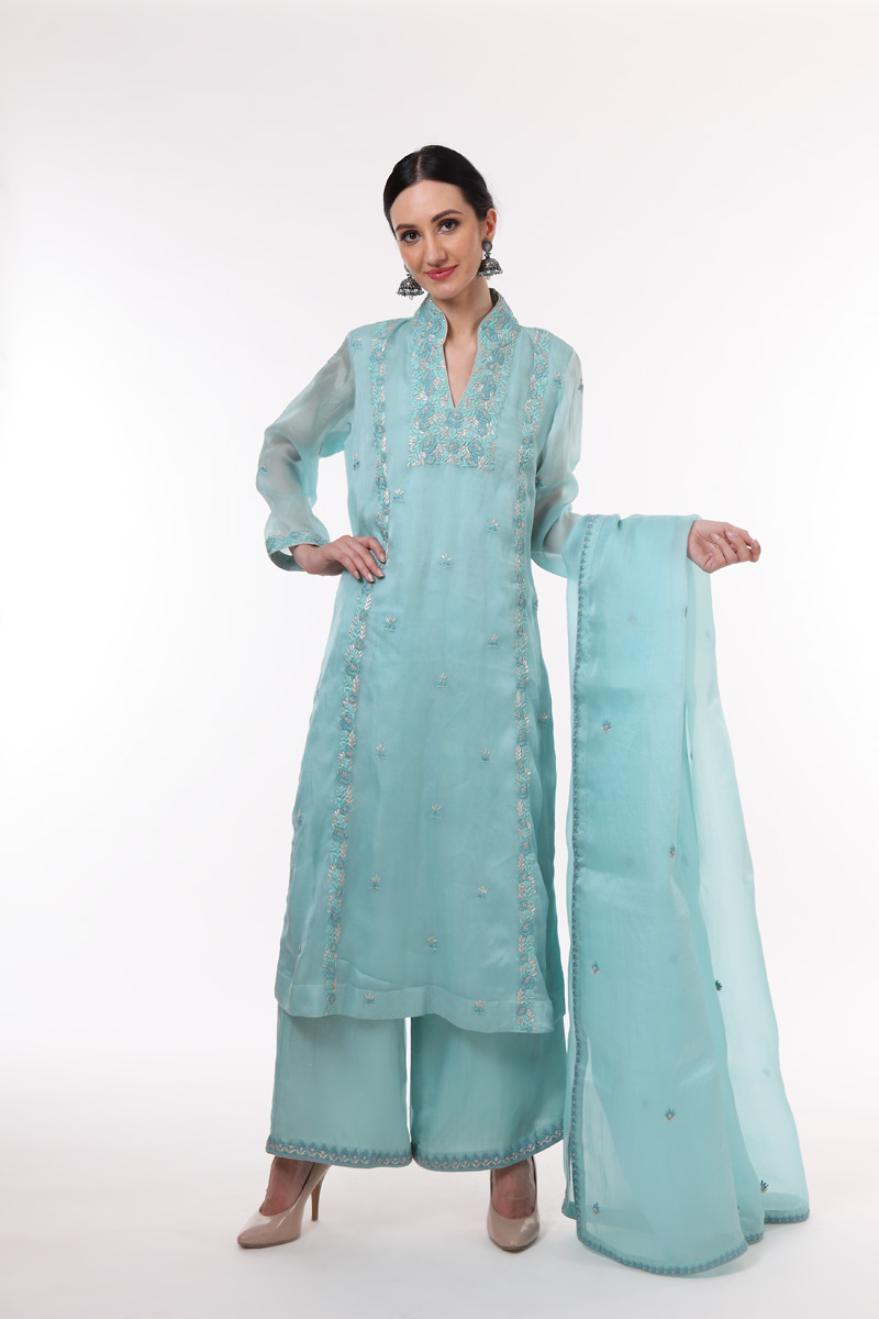 light-blue-pure-silk-organza-suit-set