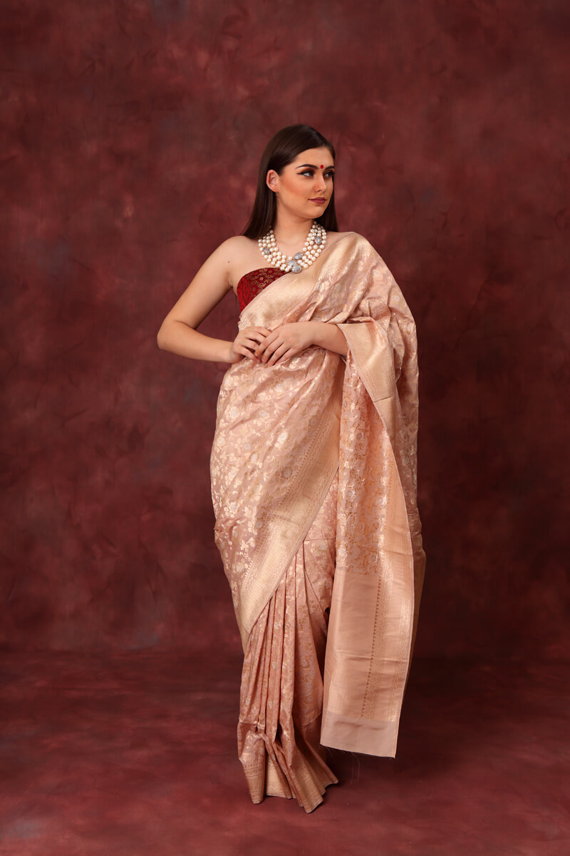 hand-woven-benarasi-rose-pink-pure-katan-silk-saree-wih-all-over-jaal